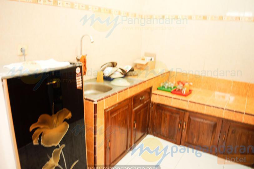 Dapur bungalow pondok simpati